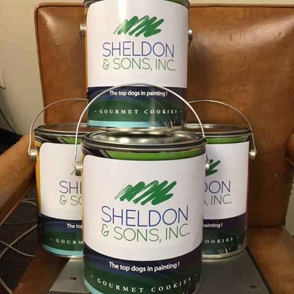 Sheldon Paint Can