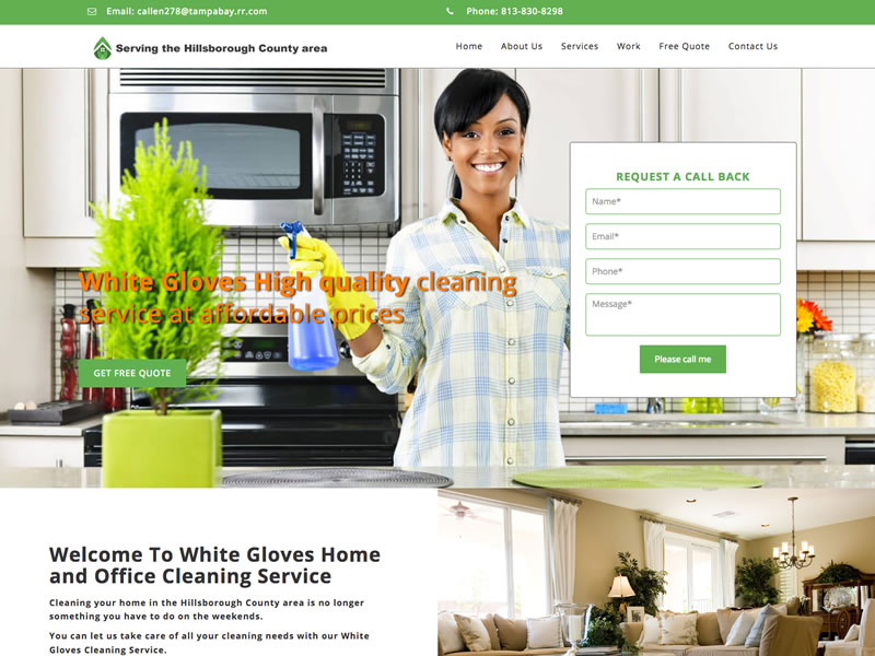 White Gloves Cleaning Service